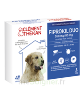 Fiprokil Duo 268mg/80mg Solution Pour Spot-on Grands Chiens 20-40kg 4 Pipettes/2.68ml à La Ricamarie