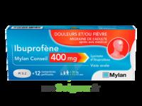 Ibuprofene Mylan Conseil 400mg, Comprimés Pelliculés à La Ricamarie