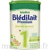 Blédina Blédilait Premium 1 Lait En Poudre B/800g à La Ricamarie