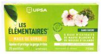 Les Elémentaires Sans Sucre Pastilles Maux De Gorge Pomme Verte B/20 à La Ricamarie