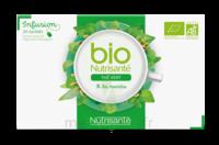 Nutrisanté Infusions Bio Thé Vert Menthe 20 Sachets à La Ricamarie