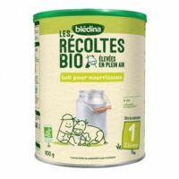 Blédina Les Récoltes Bio 1 Lait en poudre B/800g à La Ricamarie