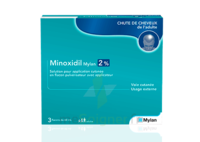 MINOXIDIL MYLAN 2 %, solution pour application cutanée à La Ricamarie