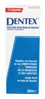 DENTEX Solution pour bain bouche Fl/300ml à La Ricamarie