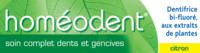 Boiron Homéodent Soin Complet Dents Et Gencives Pâte Dentifrice Citron T/75ml à La Ricamarie