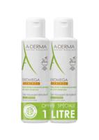 Acheter Aderma Exomega Gel Moussant Emollient Duo 2x500ml à La Ricamarie