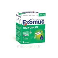 Exomuc 200 Mg, Granulés Pour Usage Oral En Sachet 15 Sachets/2g à La Ricamarie