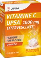 Vitamine C Upsa Effervescente 1000 Mg, Comprimé Effervescent à La Ricamarie