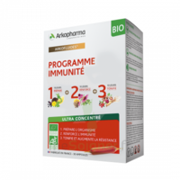 Arkofluides Bio Ultraextract Coffret Programme Immunité 3x10 Ampoules/10ml à La Ricamarie