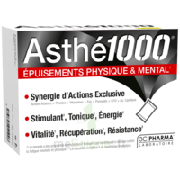 Asthe 1000 Poudre à Diluer épuisements Physique & Mental 10 Sachets à La Ricamarie